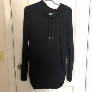 Maternity light weight pull over